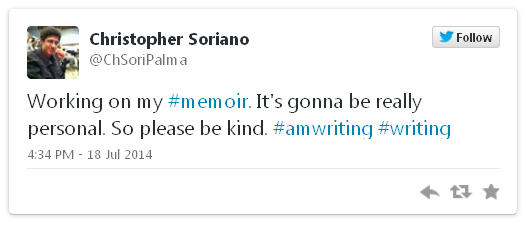 Working on my #memoir. It's gonna be really personal. So please be kind. #amwriting #writing